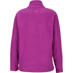 Marmot Rocklin Sweat-shirt avec Fermeture éclair 1/2 Fille, grape